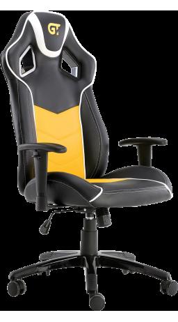 Геймерське крісло GT Racer X-2560 Black/White/Yellow