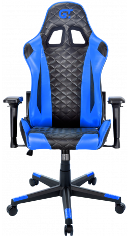 11Геймерське крісло GT Racer X-2563-1LP Black/Blue