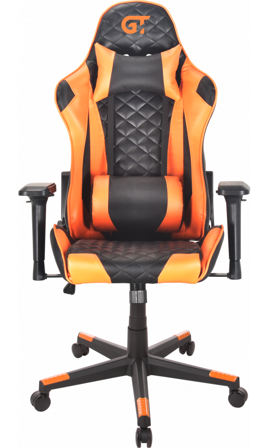 Геймерське крісло GT Racer X-2563-1LP Black/Orange