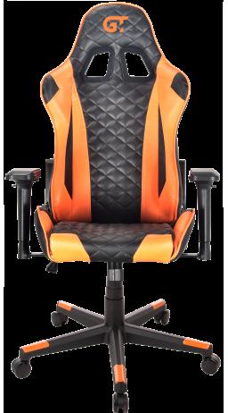 11Геймерське крісло GT Racer X-2563-1LP Black/Orange