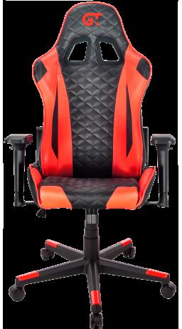 11Геймерське крісло GT Racer X-2563-1LP Black/Red