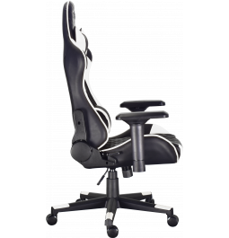 Геймерське крісло GT Racer X-2563-1LP Black/White
