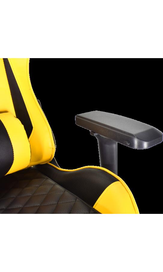 Геймерське крісло GT Racer X-2563-1LP Black/Yellow