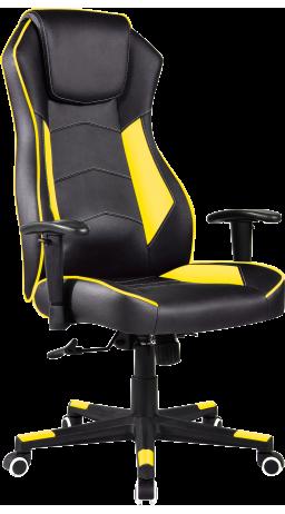 Геймерское кресло GT Racer X-2564 Black/Yellow