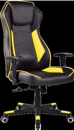 Геймерське крісло GT Racer X-2564 Black/Yellow