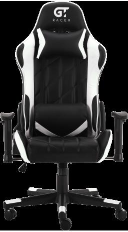 11Геймерське крісло GT Racer X-2579 Black/White
