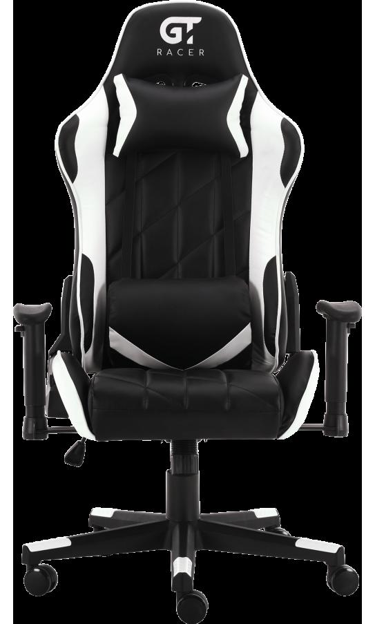 Геймерское кресло GT Racer X-2579 Black/White