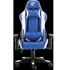 Геймерське крісло GT Racer X-2579 Blue/White