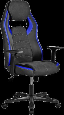 11Геймерське крісло GT Racer X-2589 Black/Blue