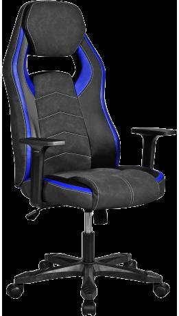 Геймерське крісло GT Racer X-2589 Black/Blue