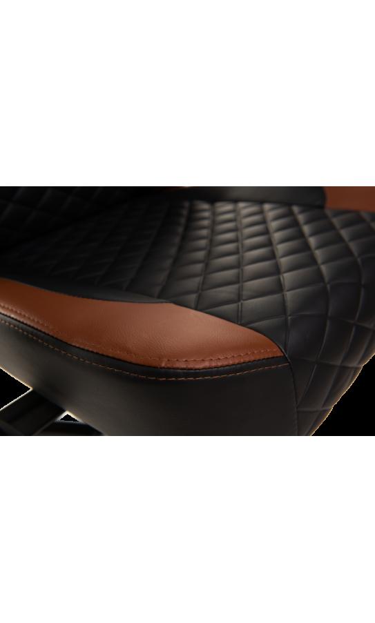 Геймерське крісло GT Racer X-2604-4D Black/Brown