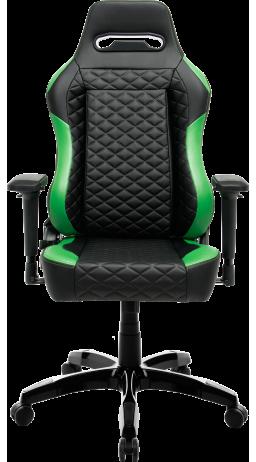 11Геймерське крісло GT Racer X-2604-4D Black/Dark green