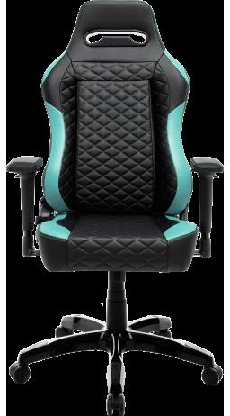 11Геймерське крісло GT Racer X-2604-4D Black/Mint