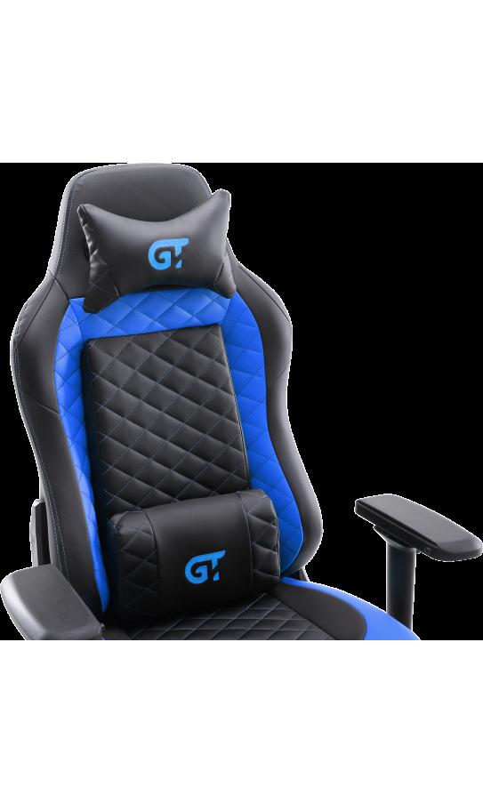 Геймерское кресло GT Racer X-2605-4D Black/Blue