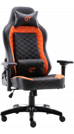 Геймерське крісло GT Racer X-2605-4D Black/Orange