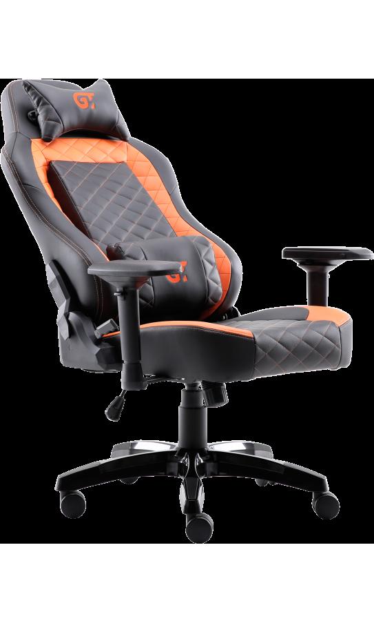 Геймерское кресло GT Racer X-2605-4D Black/Orange