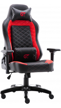 Геймерське крісло GT Racer X-2605-4D Black/Red