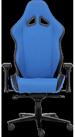 11Геймерское кресло GT Racer X-2612 Black/Blue