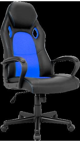 Геймерське крісло GT Racer X-2640 Black/Blue