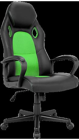 Геймерське крісло GT Racer X-2640 Black/Green