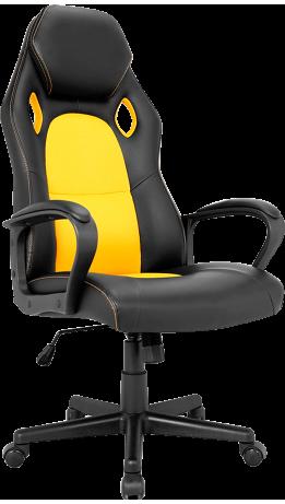 Геймерське крісло GT Racer X-2640 Black/Yellow