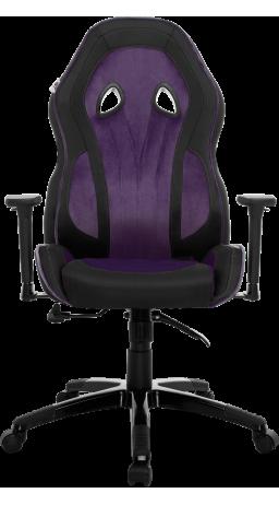 11Gaming chair GT Racer X-2645 Black/Violet