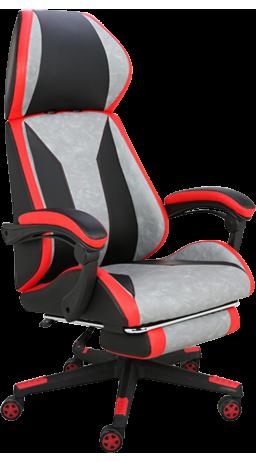 11Геймерське крісло GT Racer X-2653 Black/Red/Gray