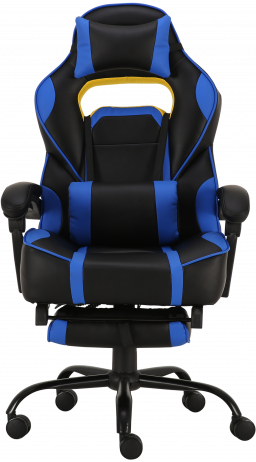Геймерське крісло GT Racer X-2748-1 Black/Blue