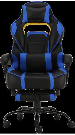 11Геймерське крісло GT Racer X-2748 Black/Blue