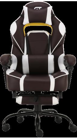 Геймерське крісло GT Racer X-2748 Brown/White