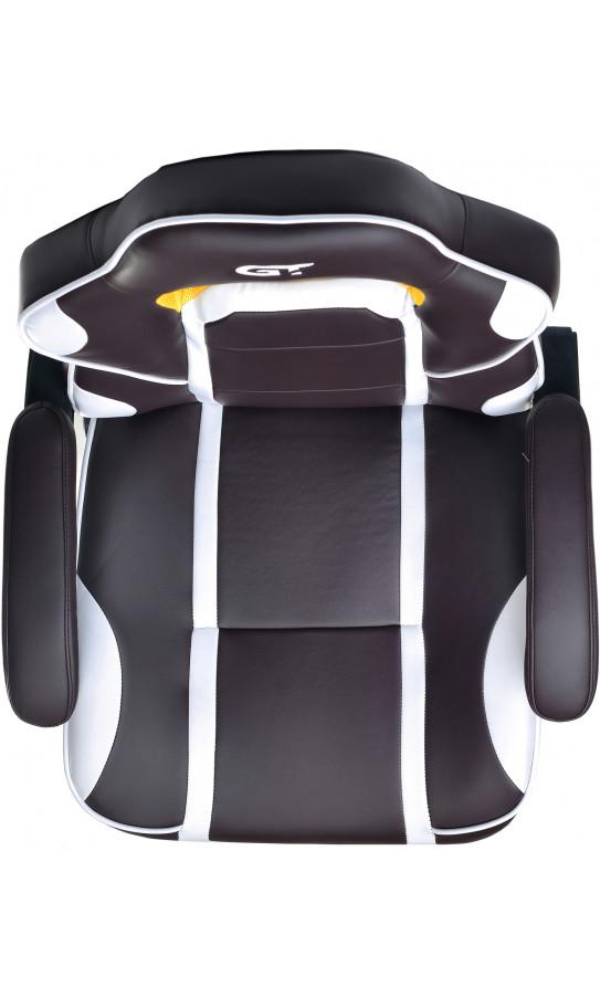 Геймерське крісло GT Racer X-2748 Dark Brown/White