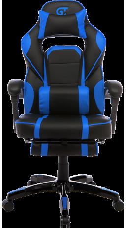 11Геймерське крісло GT Racer X-2749-1 Black/Blue