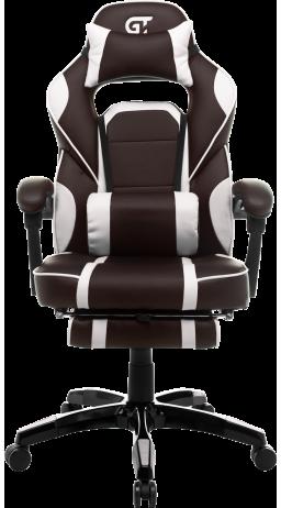 11Геймерське крісло GT Racer X-2749-1 Dark Brown/White