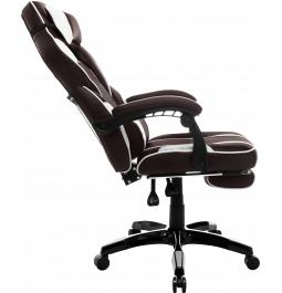 Геймерское кресло GT Racer X-2749-1 Dark Brown/White