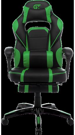 11Геймерське крісло GT Racer X-2749-1 Black/Green