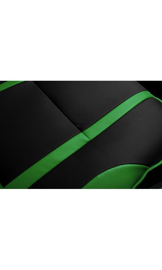 Геймерское кресло GT Racer X-2749-1 Black/Green