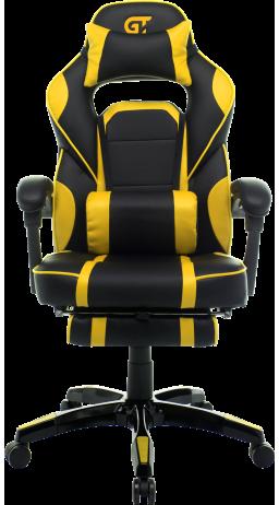11Геймерське крісло GT Racer X-2749-1 Black/Yellow