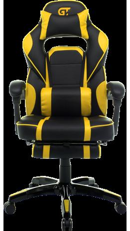 Геймерське крісло GT Racer X-2749-1 Black/Yellow