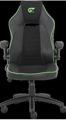 11Геймерське крісло GT Racer X-2760 Black/Green