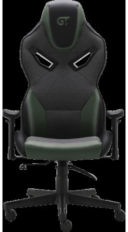 11Геймерське крісло GT Racer X-2832 Black/Green