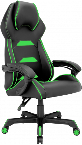 Геймерське крісло GT Racer X-2833 Black/Green