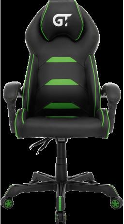 11Gaming chair GT Racer X-2833 Black/Green