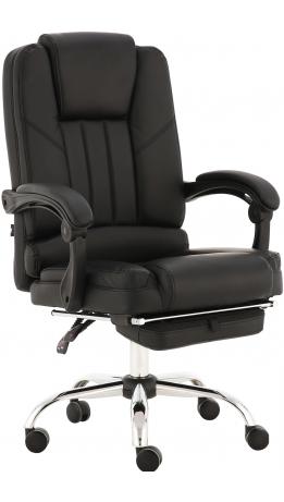 Oфісне крісло GT Racer X-2976 Footrest Black
