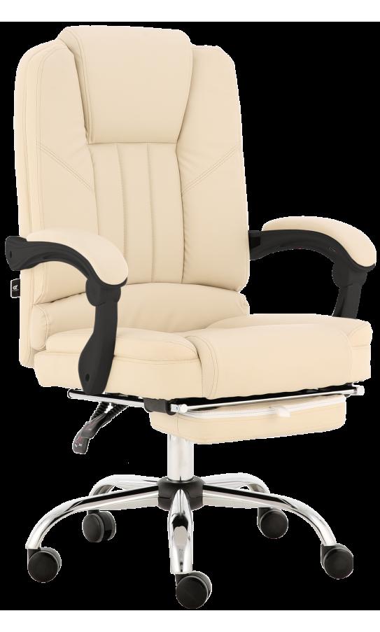 Oфісне крісло GT Racer X-2976 Footrest Cream