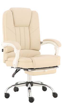 Oфісне крісло GT Racer X-2976 Footrest Cream