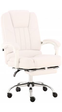 Office chair GT Racer X-2976 Footrest White