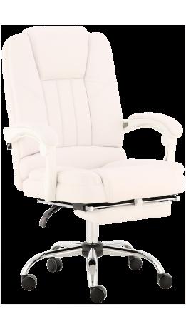 Oфісне крісло GT Racer X-2976 Footrest White