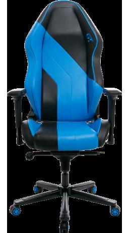 11Геймерське крісло GT Racer X-3101 Wave Black/Blue