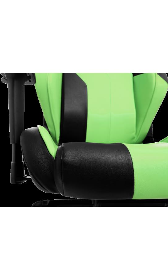 Геймерське крісло GT Racer X-3101 Wave Black/Light Green