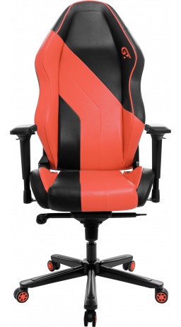 11Геймерське крісло GT Racer X-3101 Wave Black/Orange